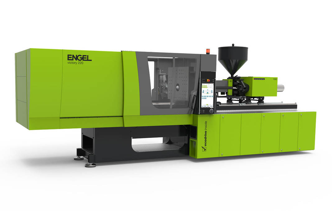New injection molding machine Engel Victory 500/260 tech