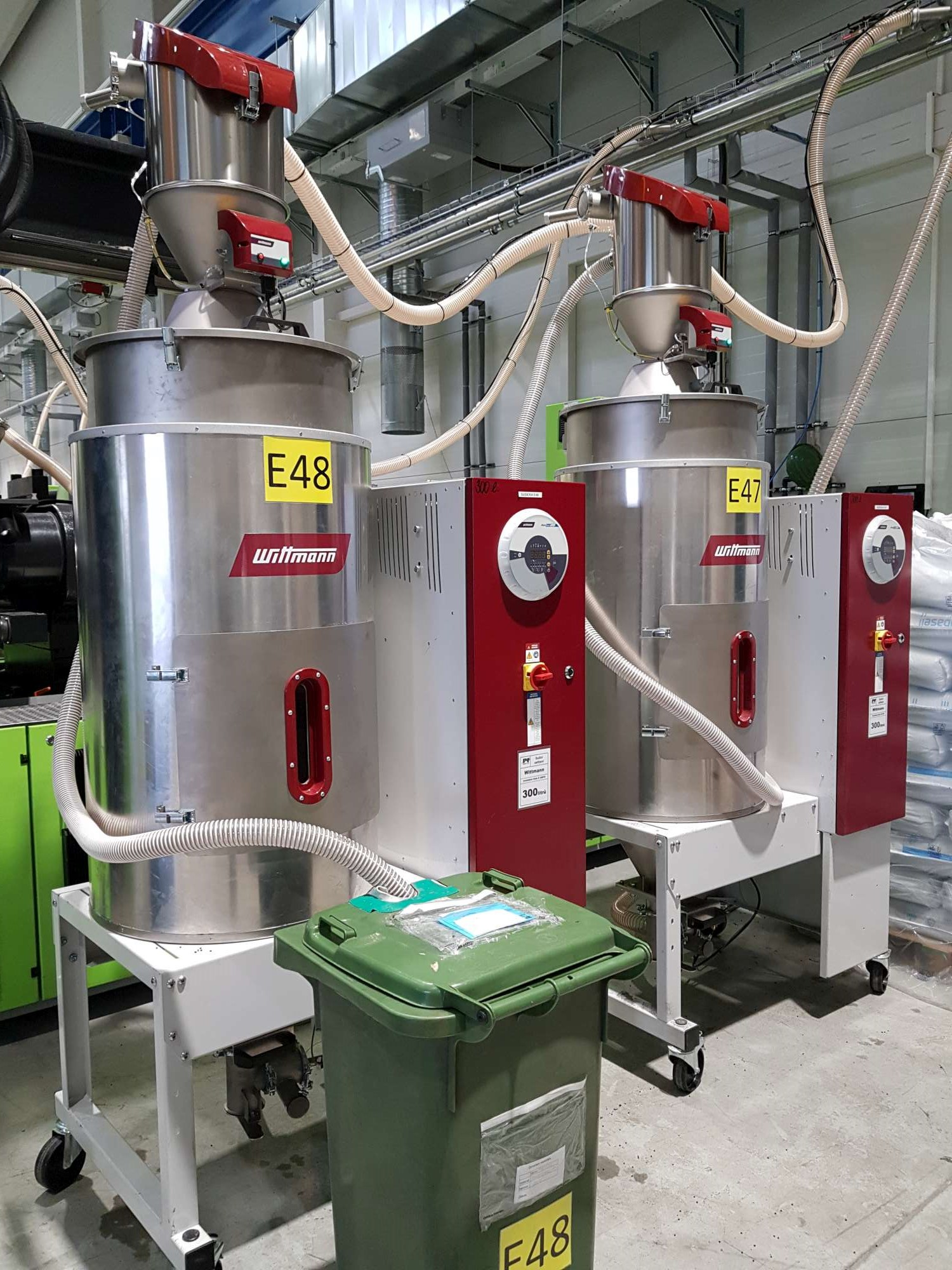 New Vacuum Induction Melting and Plastic Resin Dryers System