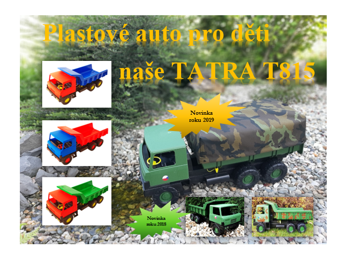 Our legendary toy the Car TATRA T815