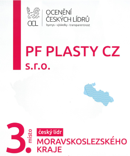The 3rd place in Czech Leader of Moravian Silesian Region Awards